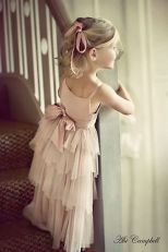 Cute bridesmaid dresses for little girls ideas 44